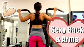 Workout For A Sexy Back & Arms - For Women