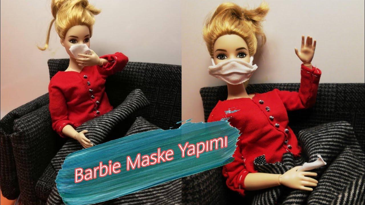 Barbie Koronadan Nasıl Korunur?/Korona Maske Yapımı/Barbie Grip Oldu