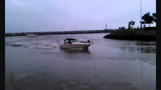 two powerboats have a close call in dana point harbor during tsunami warning