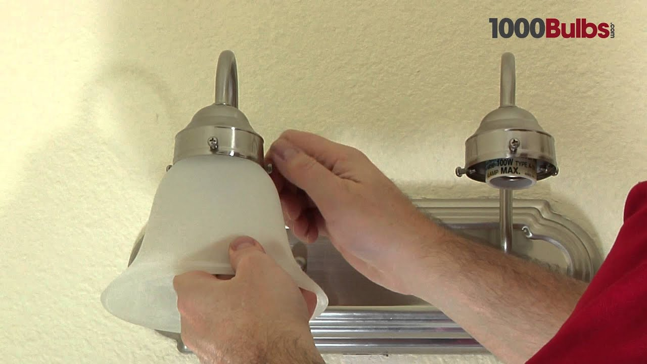 How to Install a Wall-Mounted Light Fixture - YouTube
