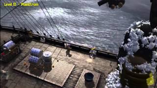 Lego Pirates of the Caribbean: Level 15 Maelstrom - Story Walkthrough - HTG