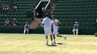 Wimbledon: 2013 Day 13 Highlights: Couacaud/Napolitano v Kokkinakis/Kyr