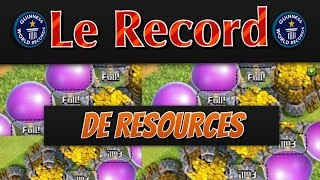 [1] Record mondial de Ressources ! 2,8 Million en tout - Les Records de Clash of Clans -FR