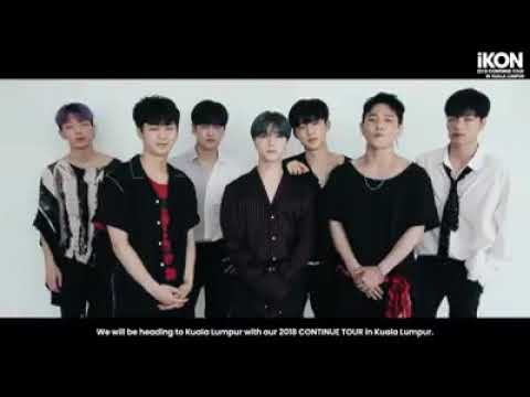 Kpop group iKON shoutout to Malaysian fans Mp3