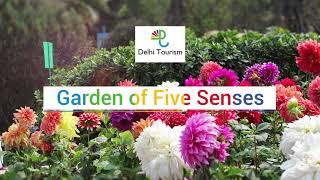 Garden of Five Senses, Saket