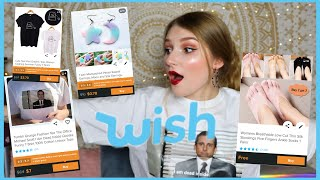 I SPENT $$ ON WISH AGAIN! ANOTHER WISH HAUL!   Clothing, Jewelry, & Gadgets!