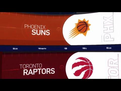 Toronto Raptors vs Phoenix Suns Game Recap | 1/17/19 | NBA