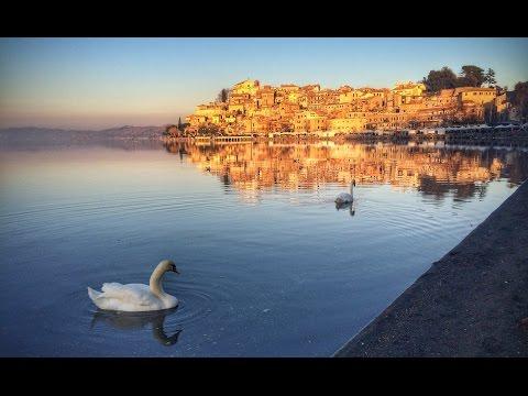"""Swan Lake"" - Lake Bracciano, Italy"