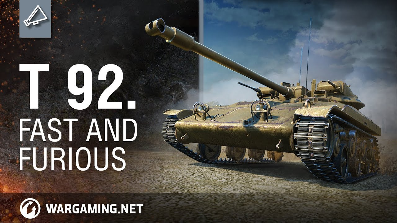 World of Tanks – T92: Fast and furious