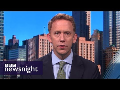 'A state of chaos': Joshua Green on President Trump's first six months – BBC Newsnight