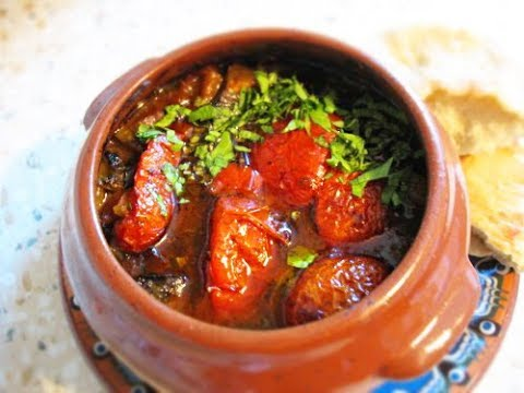 ЧАНАХИ по ГРУЗИНСКИ в ГОРШОЧКАХ. In GEORGIAN CHANAKHI In POTS.