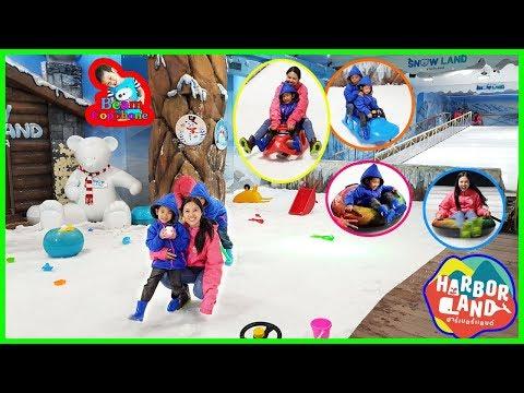น้องบีม | SnowLand เล่นสวนสนุก ฮาร์เบอร์พัทยา