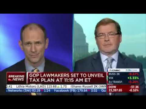 Norquist: GOP Tax Reform is a Pro-Growth Job Creation Package
