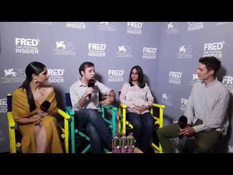Ivan Ayr, Saloni Batra and  Kimsi Singh - SONI - 75 Venice Film Festival