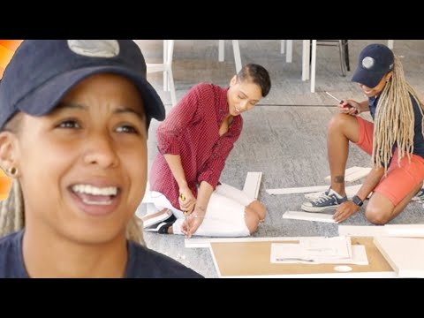 Couples Try To Build A Desk Without Instructions