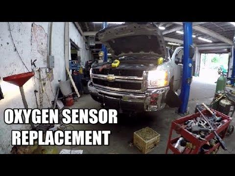 Oxygen Sensor Replacement 2007-2014 Chevy Silverado