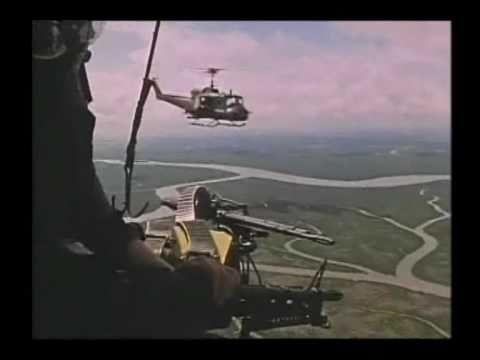 Vietnam war music video door gunner