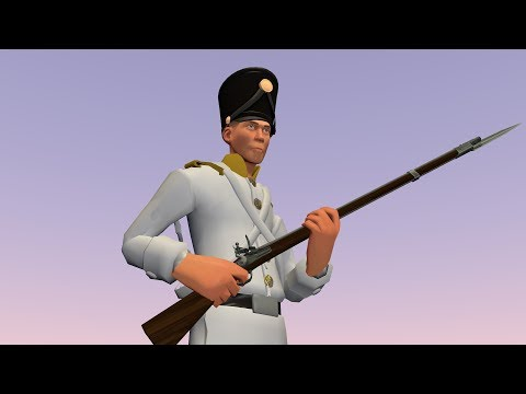 How to make an austrian musketeer with a TF2 model.