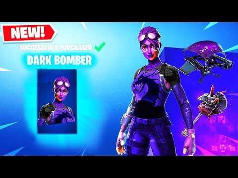 DARK BOMBER SKIN GAMEPLAY! NEW SKINS! Fortnite New Update