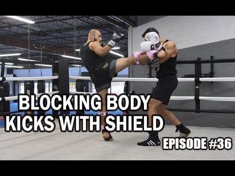 BKA - Episode #36 - Blocking Body Kicks with Shield