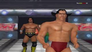 WWE RAW 2008 Total Edition PC Gameplay with fake tag team
