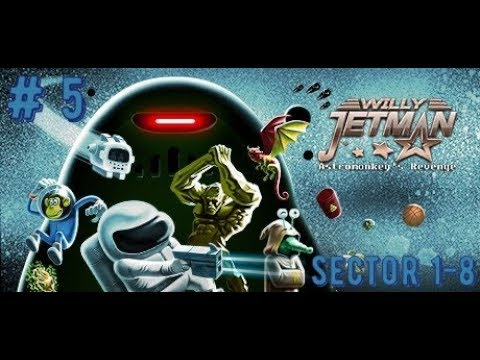 Willy Jetman: Astromonkey´s Revenge |Прохождение на PS 4 pro|: часть 5 -  Sector 1-2, 1-5, 1-8