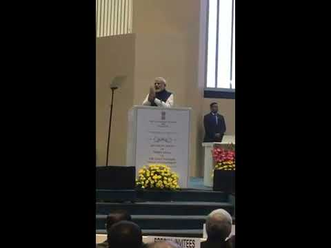 Narendra Modi speech on Law Day, 26th November 2017 on Constitution