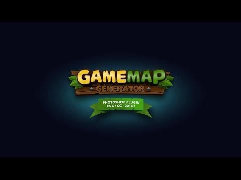 Game Map Generator - Photoshop Plugin - CS6 + CC-2014 + CC-2015 +