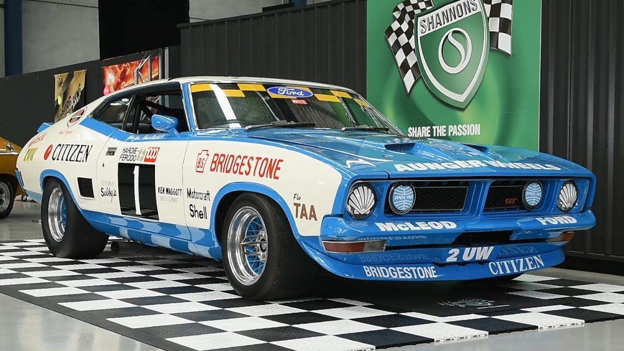 1975 Ford XB Falcon 'Group C' Coupe Racecar - 2018 Shannons Melbourne Winter Classic Auction