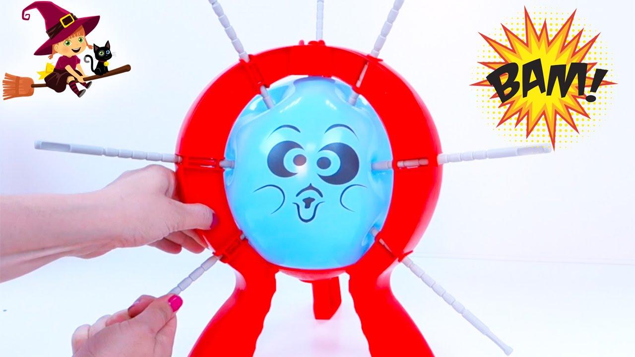 Boom Boom Balloon Juego Infantil De Mesa De Explotar El Globo Youtube