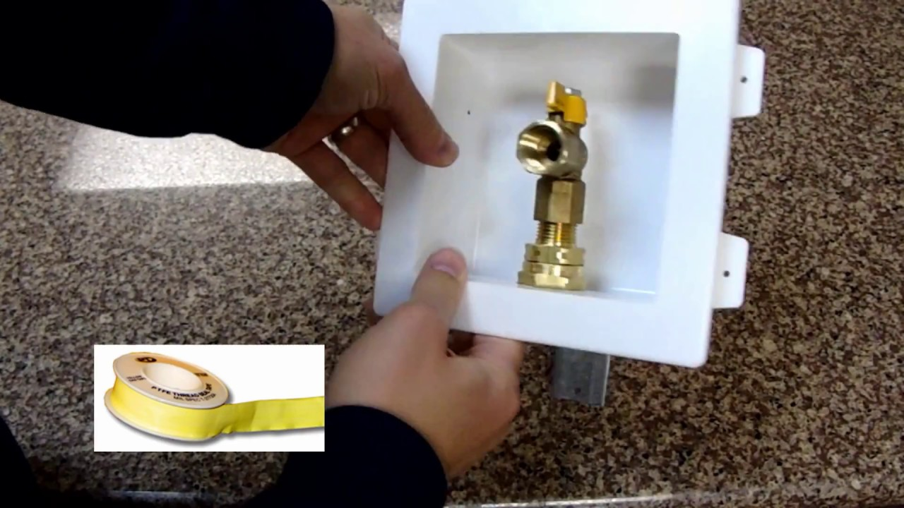 Gastite Recessed Outlet Assembly Amp Out Of Box Youtube