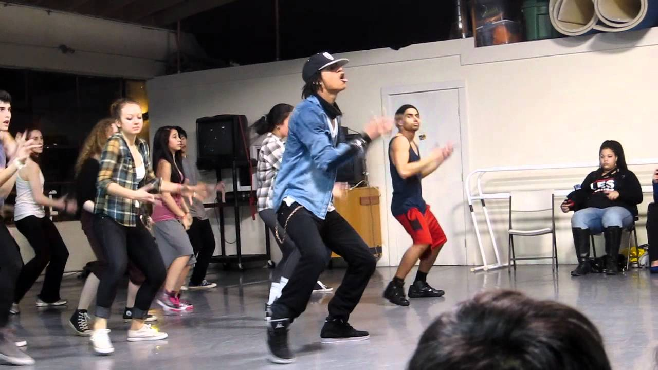 how to dance like les twins