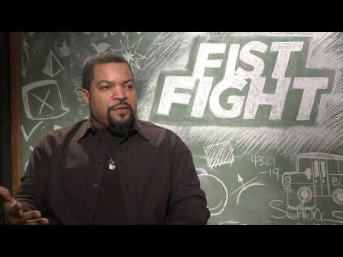 Fist Fight Ice Cube interview