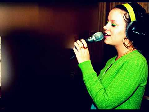 Lily Allen Naive by the Kooks Live lounge cover