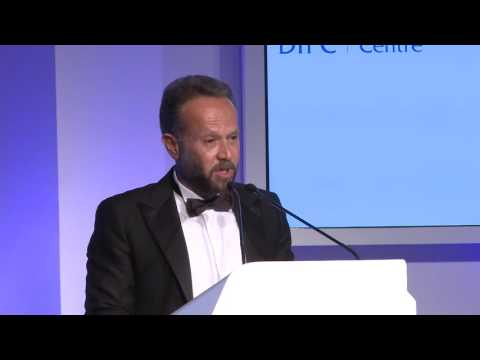 Chaouki Daher, Head of Private Banking, International Bank of Qatar acceptance speech
