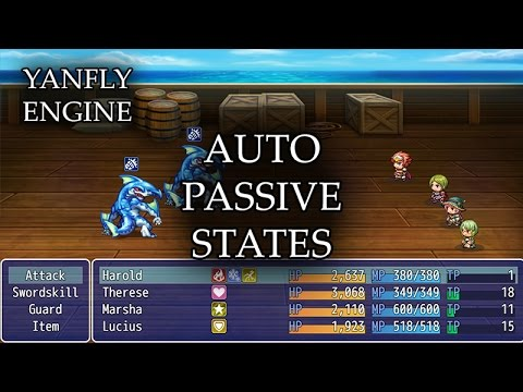 YEP 13 - Auto Passive States - RPG Maker MV