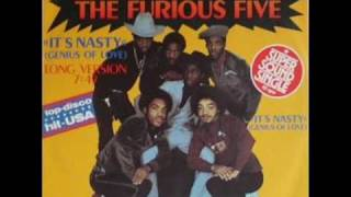 Grandmaster Flash And The Furious Five - Its Nasty (Genius Of Love)