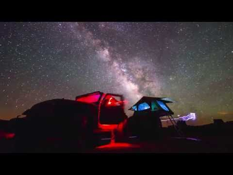 Pitch Black Light-4k Milky Way Timelapse