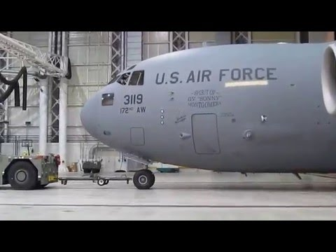 """172nd Airlift Wing, MS Air National Guard C-17 """"Flight to the North Pole"""""""