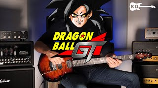 Dragon Ball GT Theme - Electric Guitar Cover by Kfir Ochaion