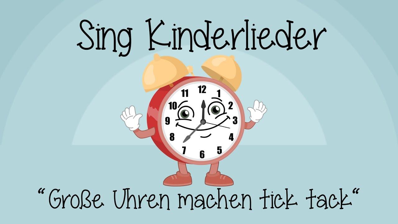 Kinderlied Uhr