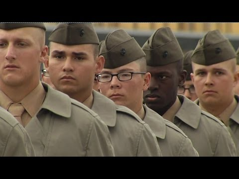 WHY DID THESE YOUNG MEN JOIN US MARINES? BBC NEWS
