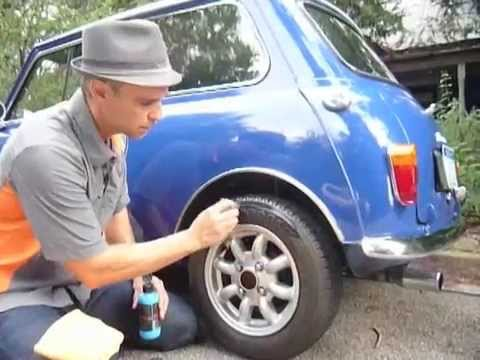 STOP TIRE DRY ROT, RESTORE FADED BUMPERS, auto, boat, RV, motorcycle...