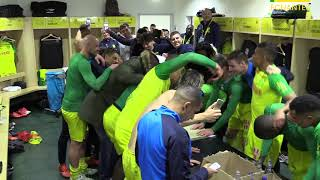 FC Nantes - Toulouse FC : la joie du vestiaire