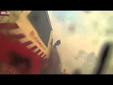 GoPro footage of australian bushfires