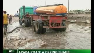 Lagos Apapa road : A crying shame