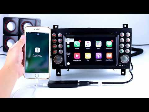 Plug and Play iphone IOS system Carplay USB Dongle for Android Car Radio Support Siri Voice Control