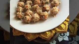 Vegetable ball ( Thai vegan food)