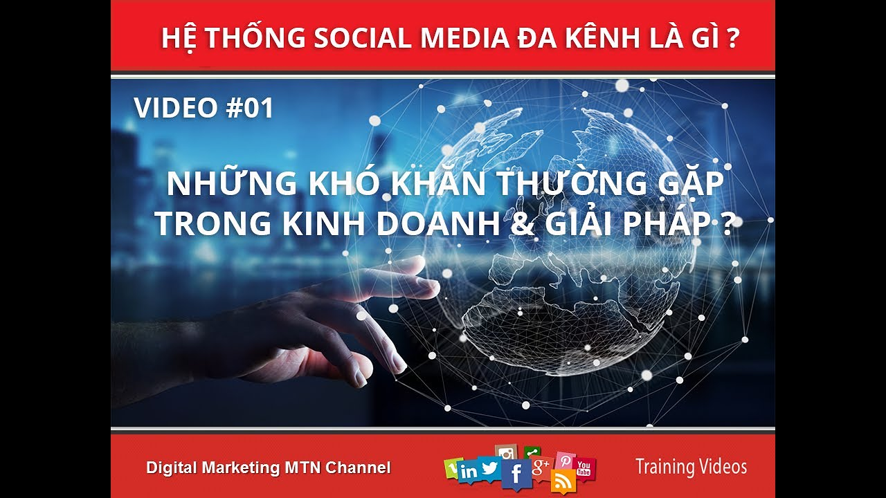 Giải pháp Digital Marketing | Những trợ ngại thường gặp trong kinh doanh online | Cách Tăng Traffic
