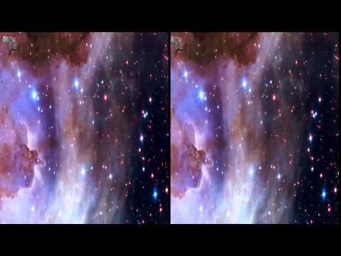 VR Video 360 | Galaxy Hubble Telescope Video Of Space | Google Cardboard Video Full HD